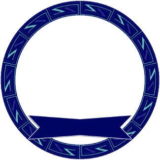 Blue ZZ Pattern