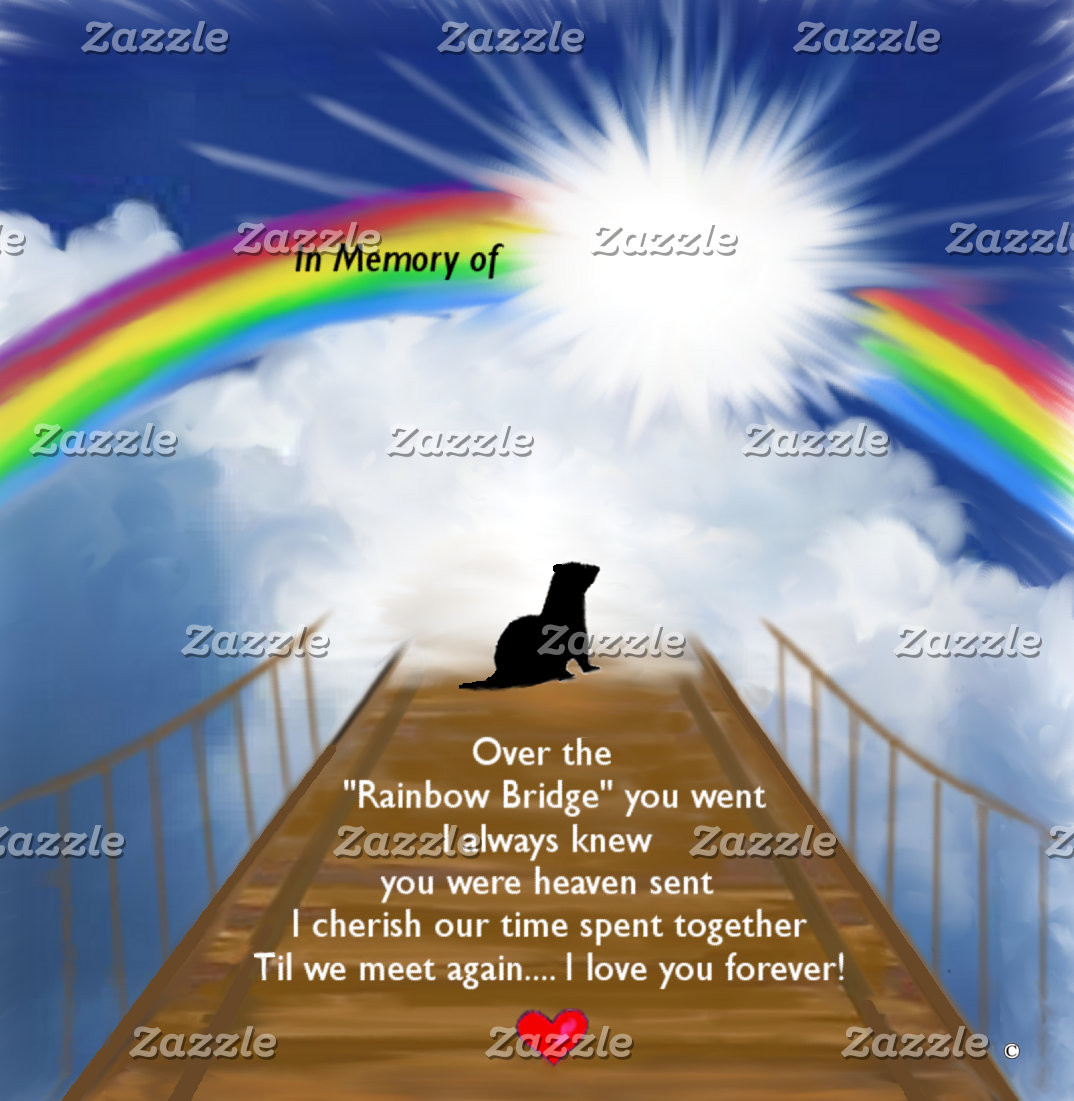 Rainbow Bridge Memorial for Ferrets