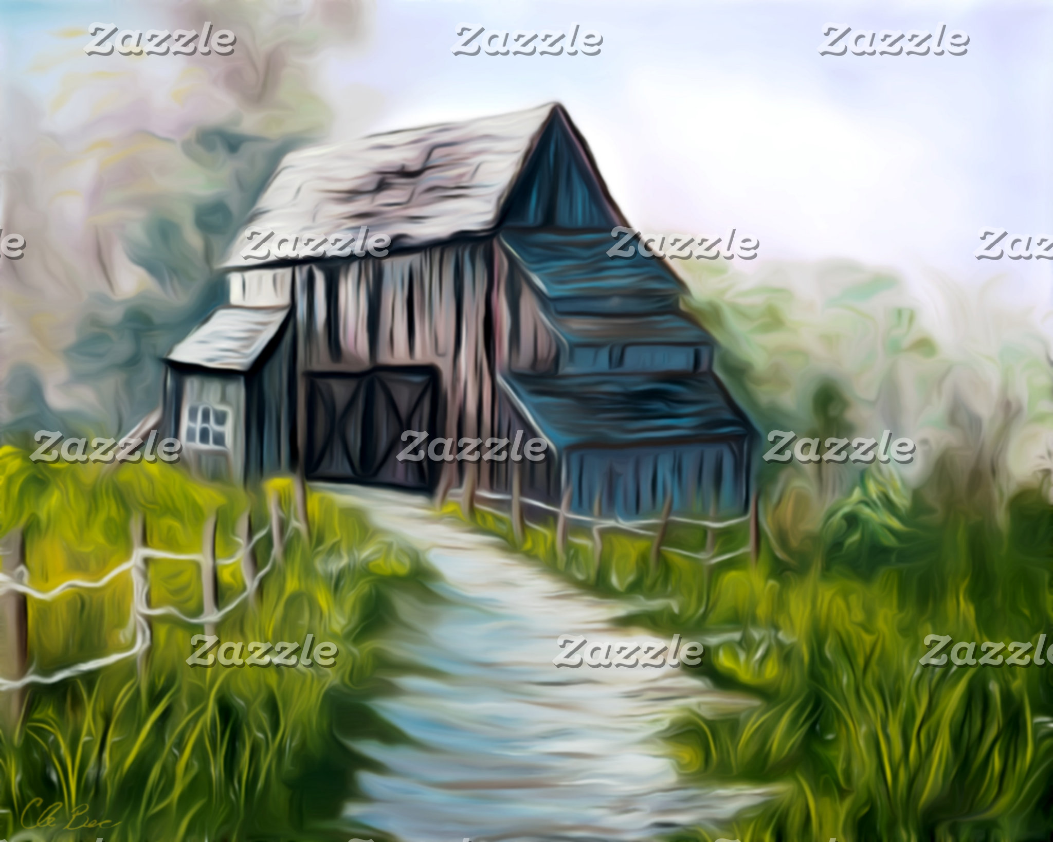 Lonely Wooden Barn Products