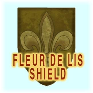 Fleur De Lis Shield