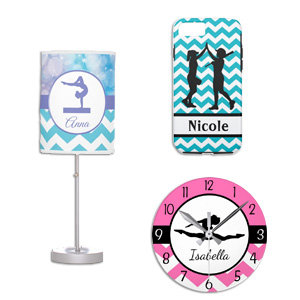 Girls Sports Decor & Products