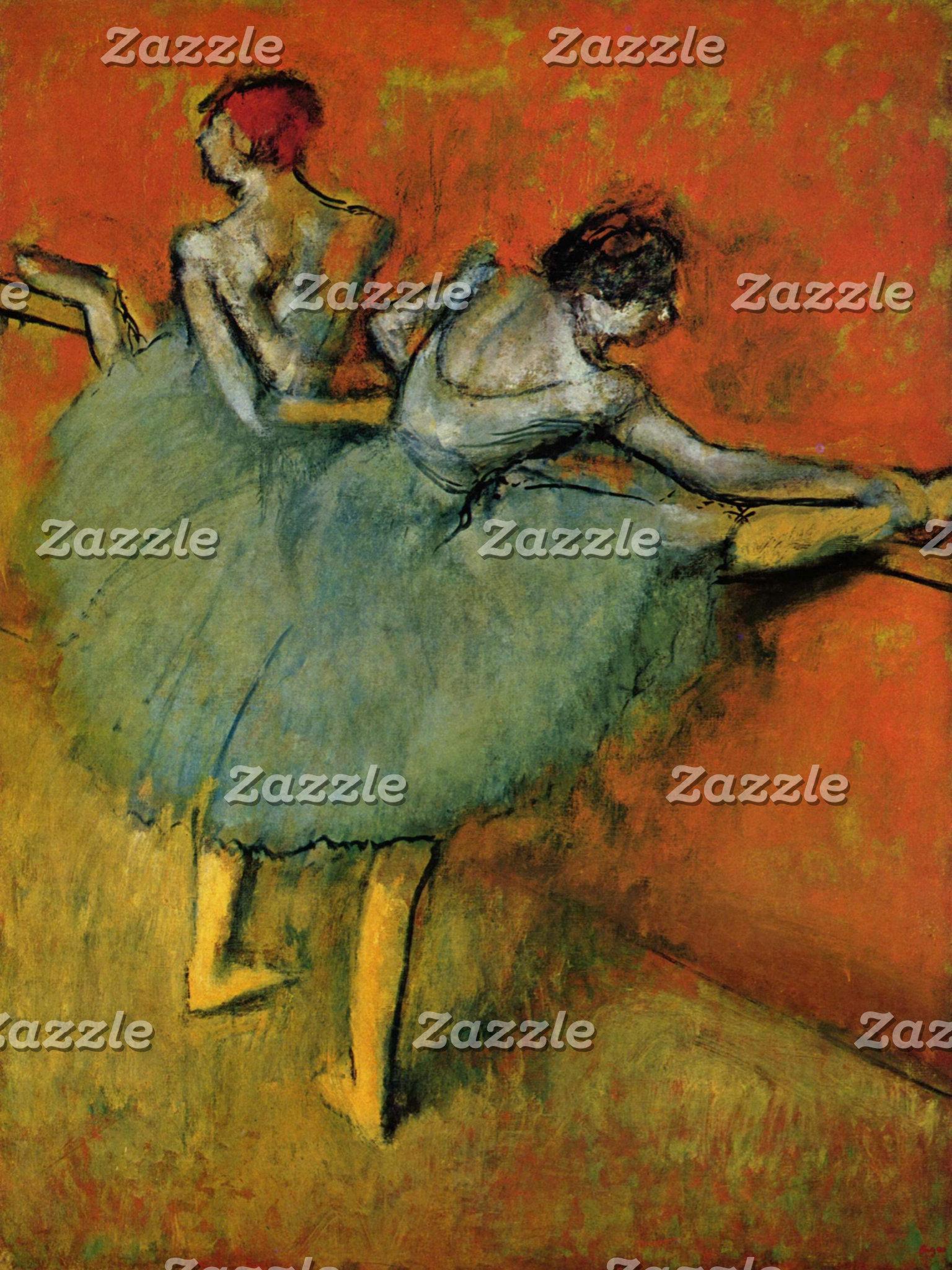 Edgar Degas   Dancers at the Bar
