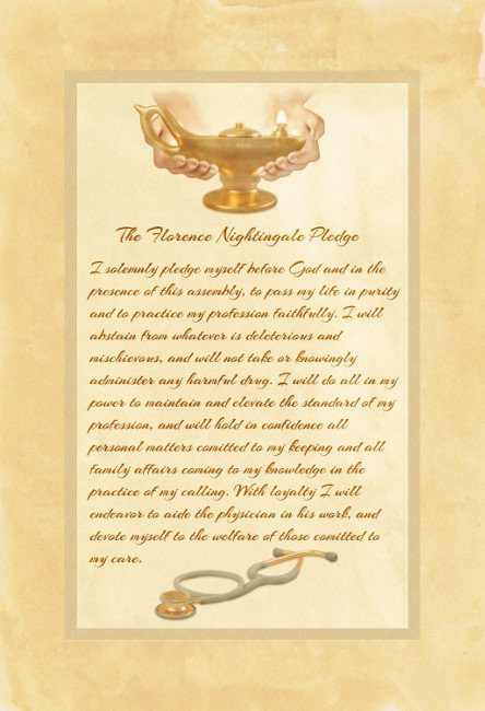 The Florence Nightingale Pledge