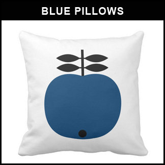 Blue Pillows