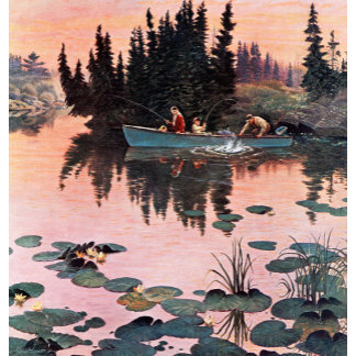 A Fine Catch by John Clymer