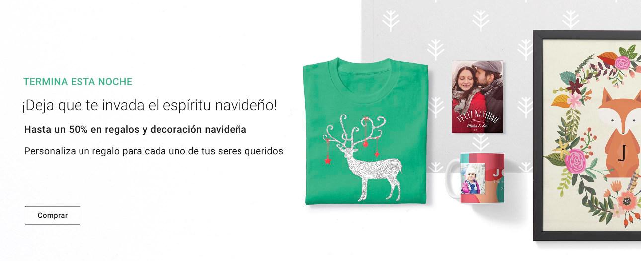 Regalos y decoración navideña personalizada en Zazzle