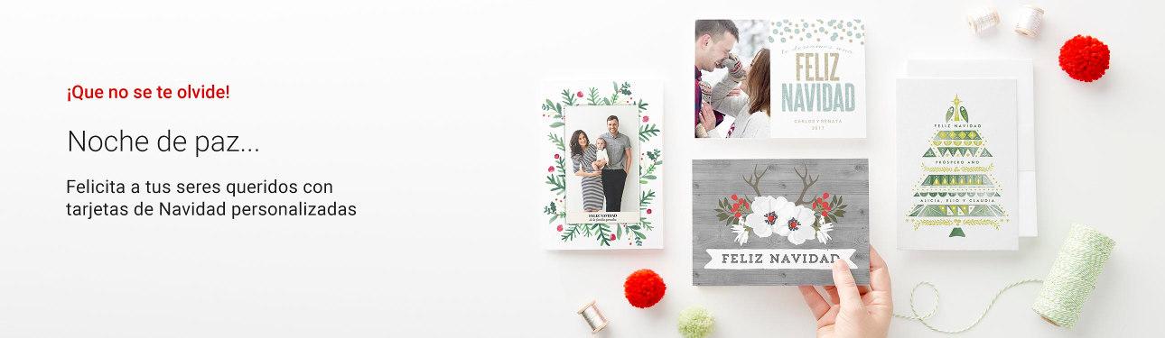 Tarjetas e invitaciones de Navidad personalizadas en Zazzle