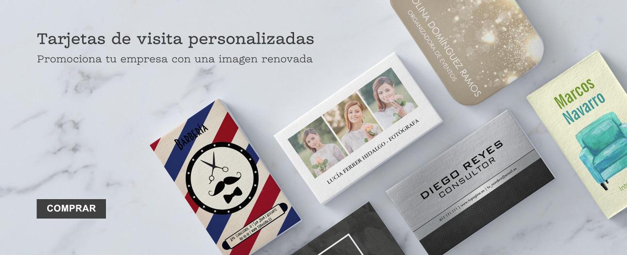 Tarjetas de visita con diseños personalizados en Zazzle