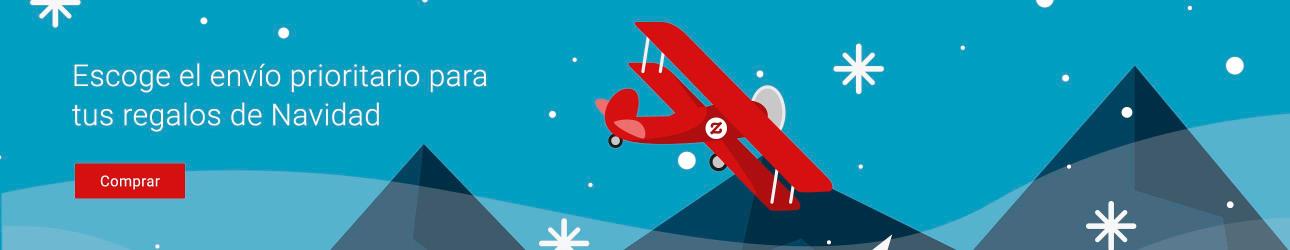 ¡Escoge el envío prioritario para recibir tus regalos a tiempo para Navidad!