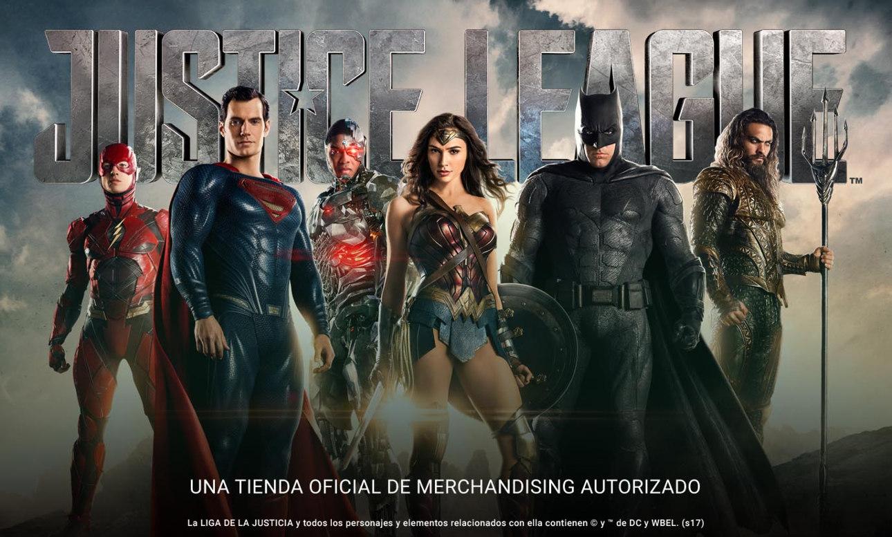 Diseño oficiales de la Liga de la Justicia en Zazzle
