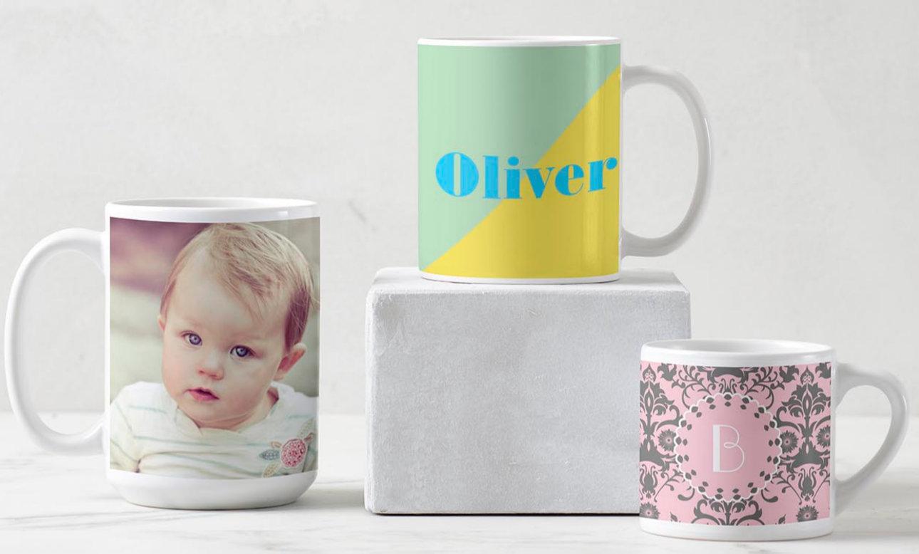 Tazas y vasos personalizados