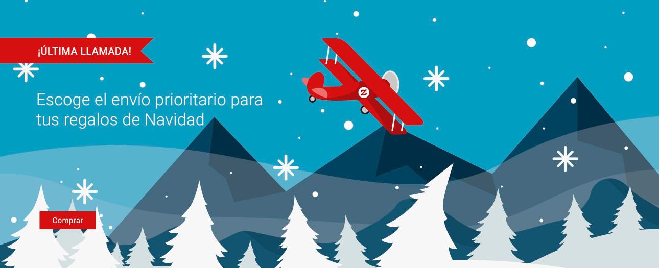 ¡Escoge el envío estándar con seguimiento para recibir tus regalos para Navidad!