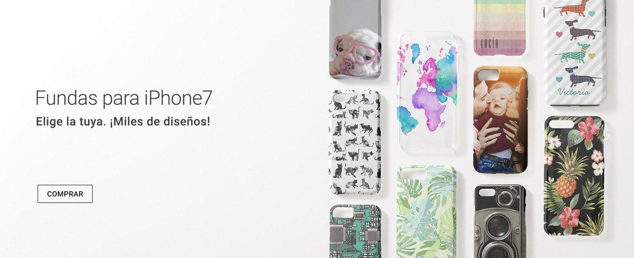 Fundas personalizadas para iPhone 7 en Zazzle