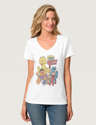 Camisetas de Barrio Sésamo en Zazzle