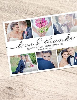 Postales de boda con 50% de descuento