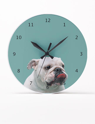 Relojes de pared personalizados en Zazzle