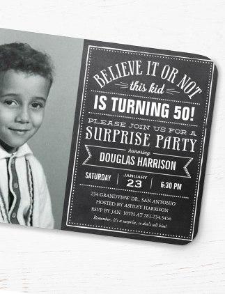Echa un vistazo a nuestros diseños de invitaciones de cumpleaños