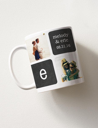 Disfruta de tus bebidas favoritas en una taza con foto