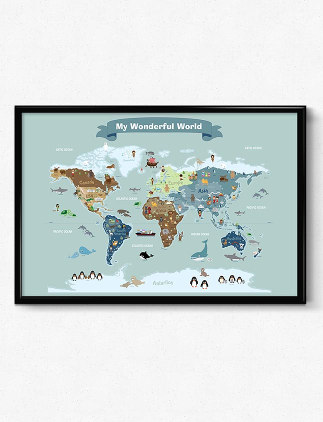 Pósters con mapas