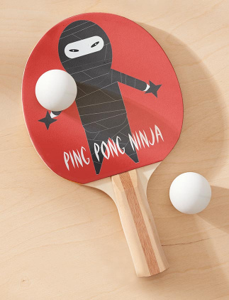 Palas de ping pong divertidas
