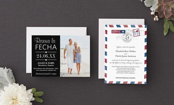 Invitaciones de boda en Zazzle