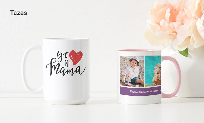 Tazas para el día de la madre en Zazzle