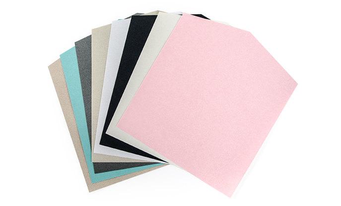 Múltiples opciones de papel premium
