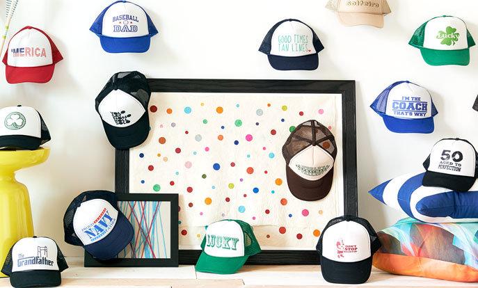 Gran selección de gorras