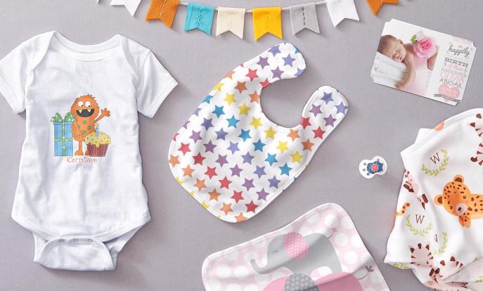 Regalos para bebés en Zazzle