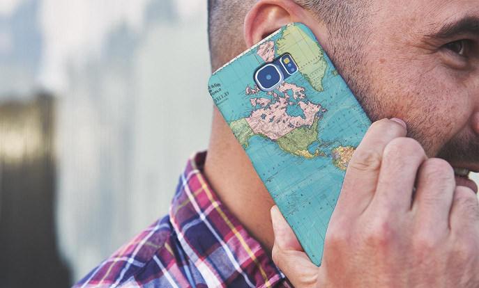 Fundas con mapas para Samsung Galaxy S6 en Zazzle