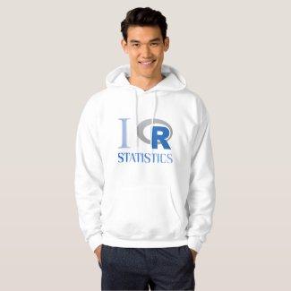 Sudadera con capucha de I love R Statistics