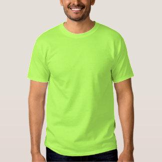 VERDE LIMA bordada personalizado de la camiseta de