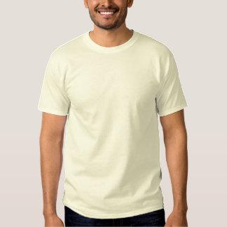 La camiseta bordada personalizado de los hombres