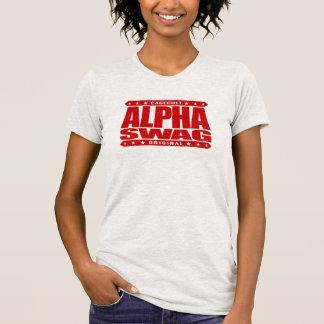 SWAG ALFA - la positividad destruye a los Camisetas