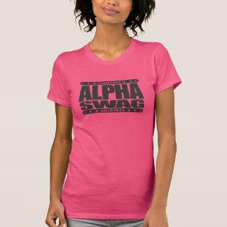 SWAG ALFA - la positividad destruye a los Camiseta