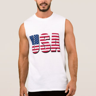 Swag americano camisetas sin mangas