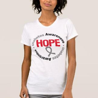 Swag de la cinta de la esperanza de la conciencia  camisetas