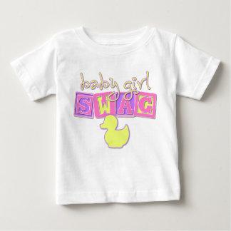 Swag de la niña camisetas