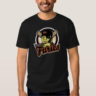 Swag de las furias del zombi camisas