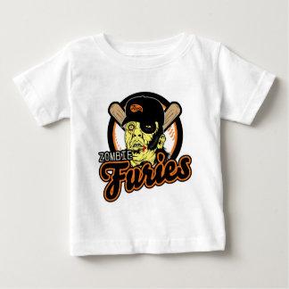 Swag de las furias del zombi camiseta