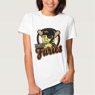 Swag de las furias del zombi camisetas