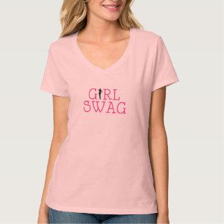 Swag del chica camisetas
