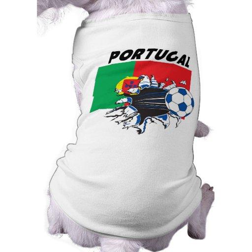 Swag del f tbol de portugal ropa de perro zazzle - Comprar ropa en portugal ...