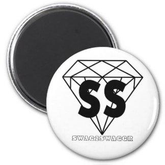 SWAG DIAMOND IMÁN REDONDO 5 CM
