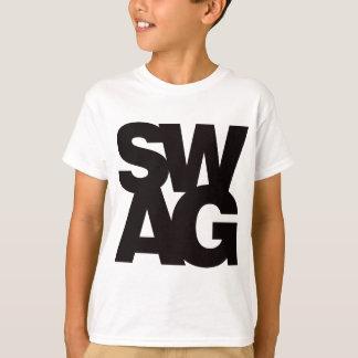 Swag - negro camisetas