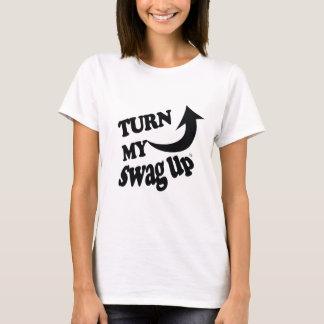 Swag negro para arriba camiseta