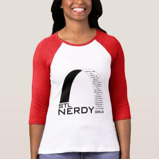 Swag Nerdy de los chicas de STL Camiseta