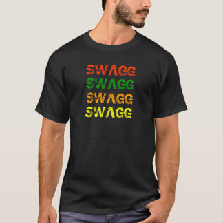 SWAGG, SWAGG, SWAGG, SWAGG CAMISETA