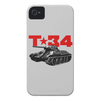 T-34 iPhone 4 PROTECTORES