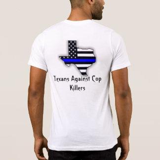 T.A.C.K. Camiseta del bolsillo de los hombres